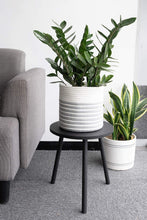 Load image into Gallery viewer, Small Round Side Table Indoor Tall Plant Stand