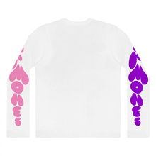PMS HORMONES LONG SLEEVE T-SHIRT (WHITE)