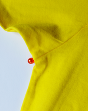 EDITION OF 2 PMS T-SHIRT (YELLOW WITH RED BLOOD DROP PEARLS)