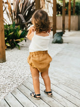 Load image into Gallery viewer, Organic Linen Bloomers - Mustard