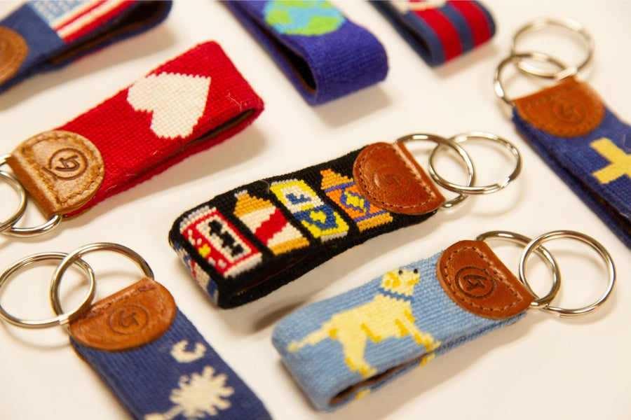 The Surprising Functionality of a Needlepoint Keychain