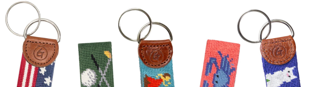 Good Threads Needlepoint KeyChains