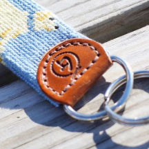 Good Threads Needlepoint KeyChains - Breaking the cycle of poverty