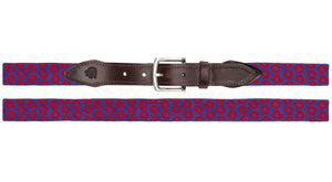 Fishman Donut Needlepoint Belt