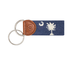 South Carolina Needlepoint Keychain