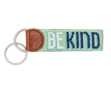 Load image into Gallery viewer, Be Kind Needlepoint Keychain