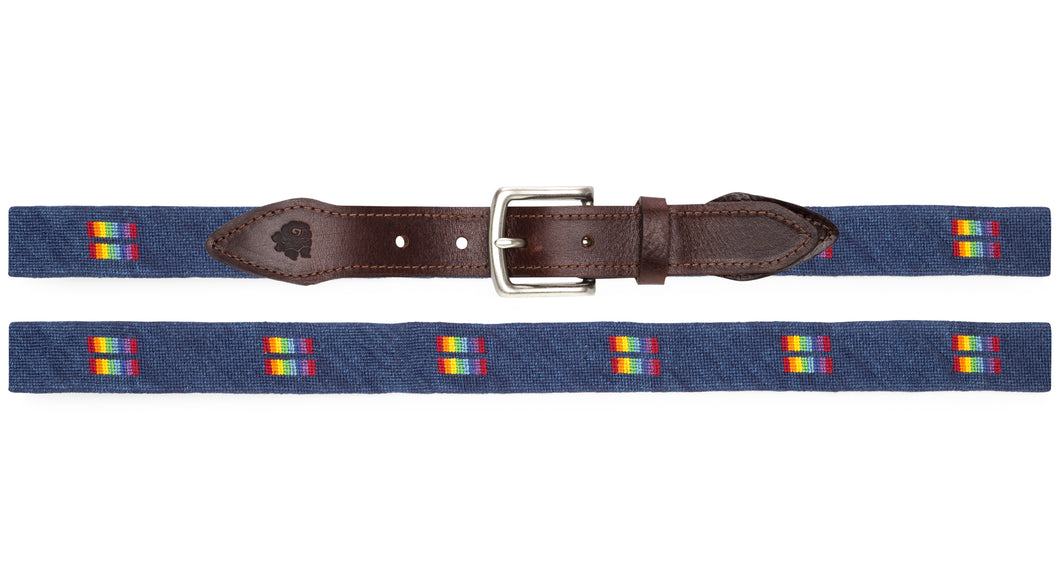 Equality Needlepoint Belt