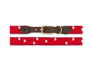 Mini Hearts Dog Collar