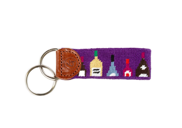 Wine Lovers Keychain