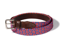 Load image into Gallery viewer, Fishman Donut Needlepoint Belt