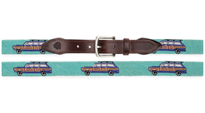 Grand Wagoneer Needlepoint Belt (Mint)