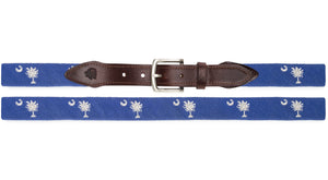South Carolina Needlepoint Belt