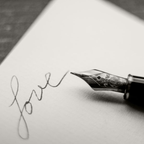 handwritten love, writing pen, personalized gifts, cute love gifts online gift store