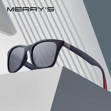 Load image into Gallery viewer, MERRY'S DESIGN Men Women Classic Retro Rivet Polarized Sunglasses Lighter Design Square Frame 100% UV Protection S'8508