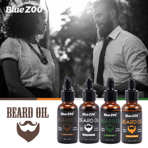 Men Beard Moustache Essence Oil Styling Care Moisturizing Charming Balm Smoothing HS11