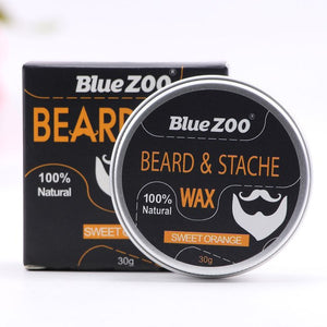 Men Beard Moustache Styling Wax Moisturizing Oil Control Balm Smoothing Care Cream  HS11