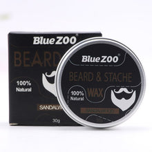 Load image into Gallery viewer, Men Beard Moustache Styling Wax Moisturizing Oil Control Balm Smoothing Care Cream  HS11