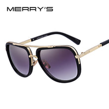 Load image into Gallery viewer, MERRY'S Fashion Men Sunglasses Classic Women Brand Designer Metal Square Sun glasses UV400 Protection S'662