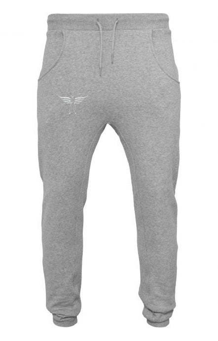 KS Fitted Light Grey Sweatpants