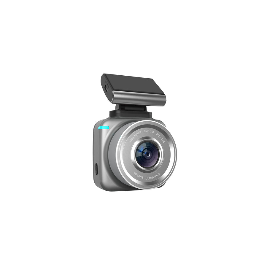 JS Dash Pro - Plug & Play - 1080p FHD Dash cam & 720p Rear Camera with Wi-Fi & G-sensor