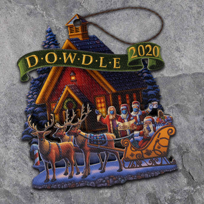 2020 Dowdle Collectable Christmas Ornament