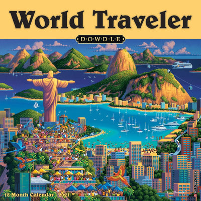 World Traveler 2021 Wall Calendar