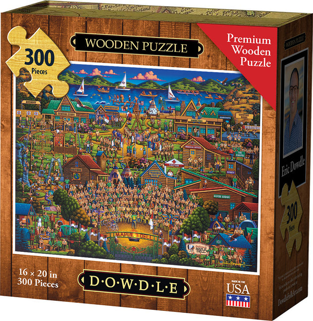 Camp Maple Dell - Wooden Puzzle