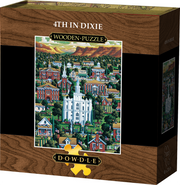 4th in Dixie - Wooden Puzzle