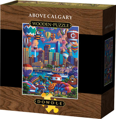 Above Calgary - Wooden Puzzle