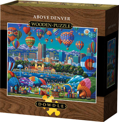 Above Denver Wooden Puzzle