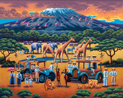 African Safari - Fine Art