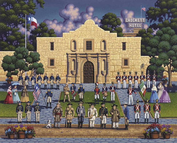 The Alamo - Stratascape
