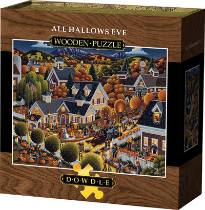 All Hallow's Eve Wooden Puzzle
