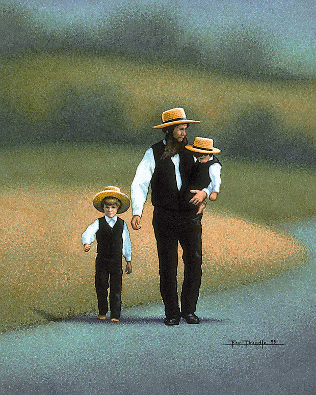 Amish - Father - Fine Art