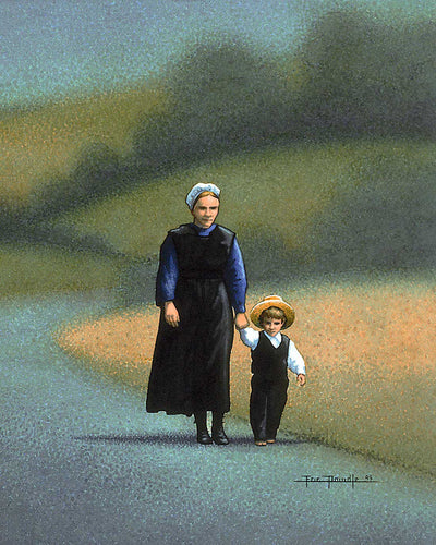 Amish - Mother - Fine Art