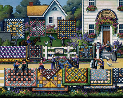 Amish Quilts - Fine Art