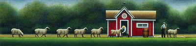 Amish Sheep Shearing - Fine Art