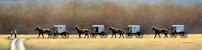 Amish Sunday - Fine Art