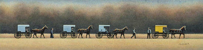 Amish Wedding - Fine Art