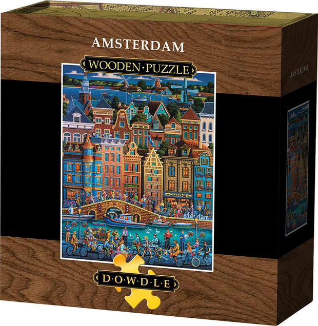 Amsterdam - Wooden Puzzle