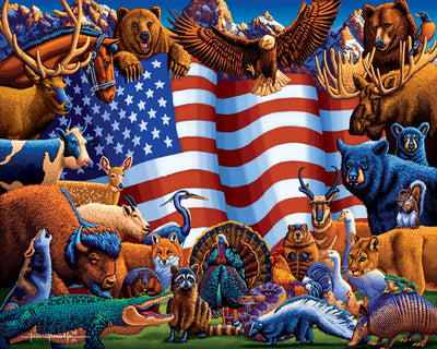 Animals of America - Fine Art