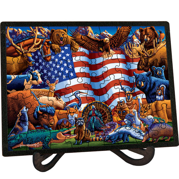 Animals of America Picture Perfect Puzzle™