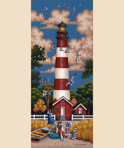 Assateauge Lighthouse - Fine Art