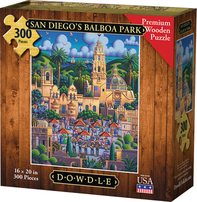 San Diego's Balboa Park - Wooden Puzzle