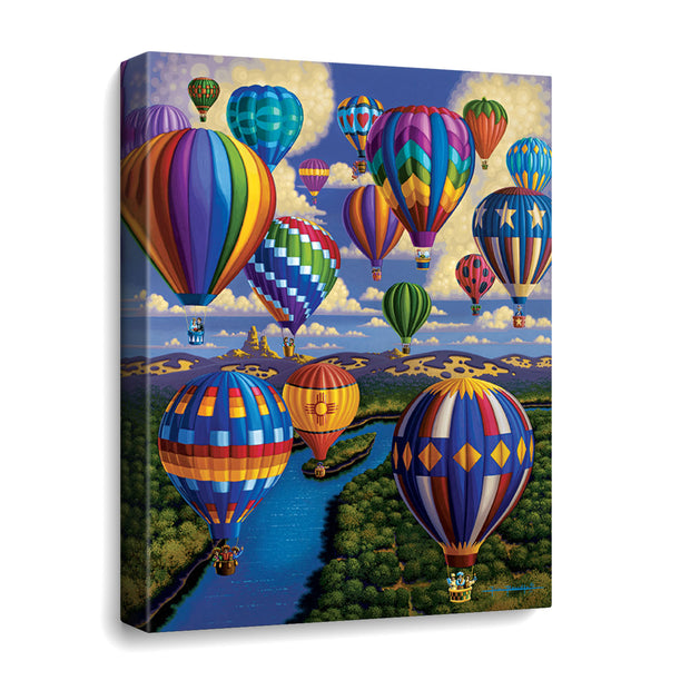 Balloon Festival - Travel Puzzle