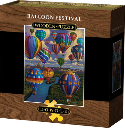 Balloon Festival Wooden Puzzle