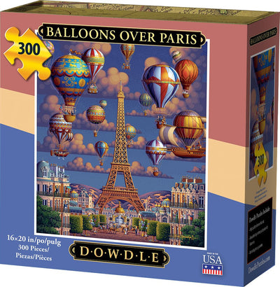 Balloons Over Paris - 300 Piece