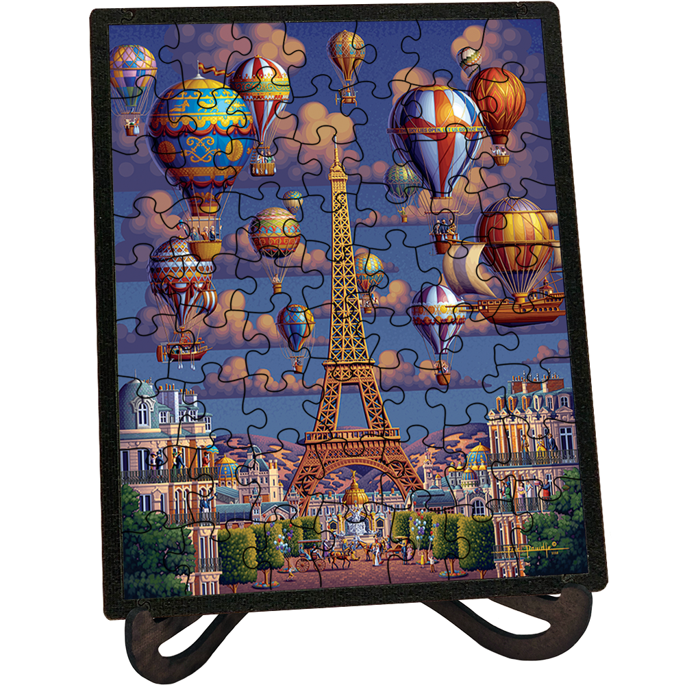 Balloons Over Paris Picture Perfect Puzzle™