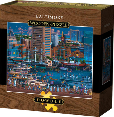 Baltimore - Wooden Puzzle
