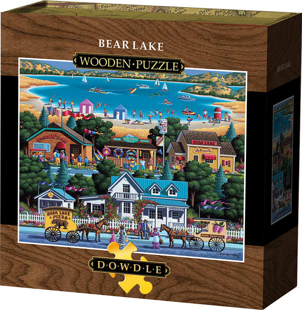 Bear Lake Wooden Puzzle